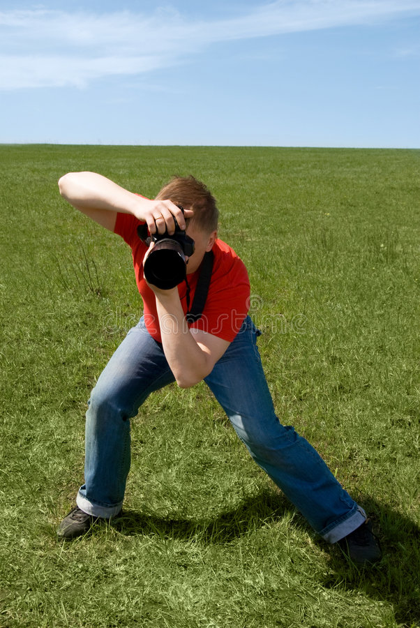 Photographe image libre de droits