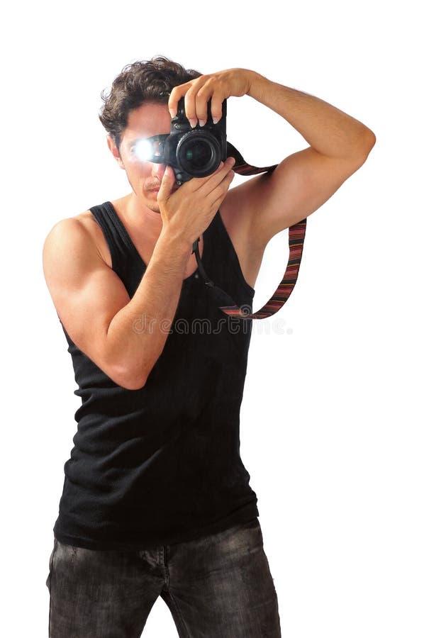Photographe d'amateur photographie stock libre de droits