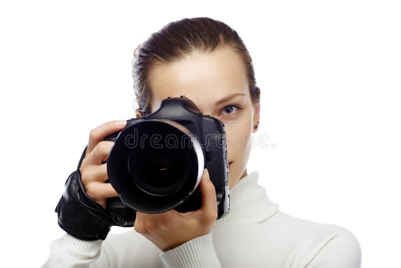 Photographe de beauté photographie stock