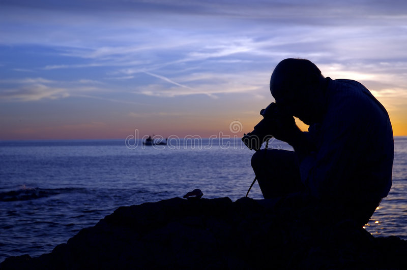 Photographe de coucher du soleil II
