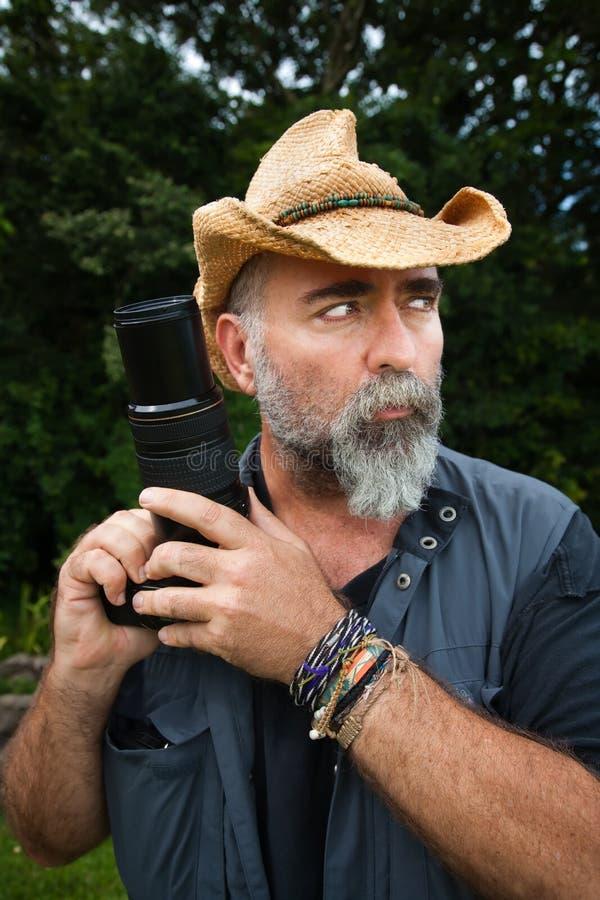 Photographe extérieur images libres de droits
