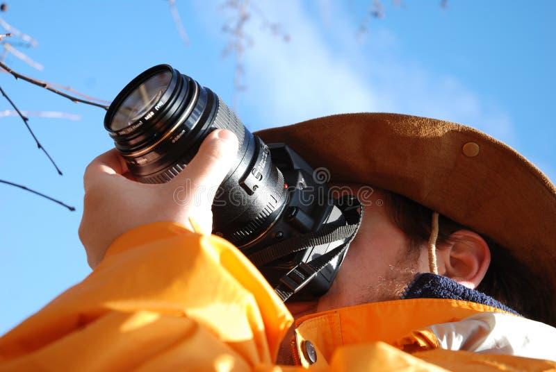 Photographe extérieur images stock