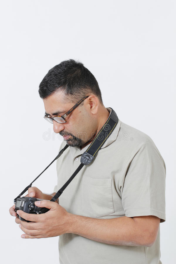 Photographe indien photos stock