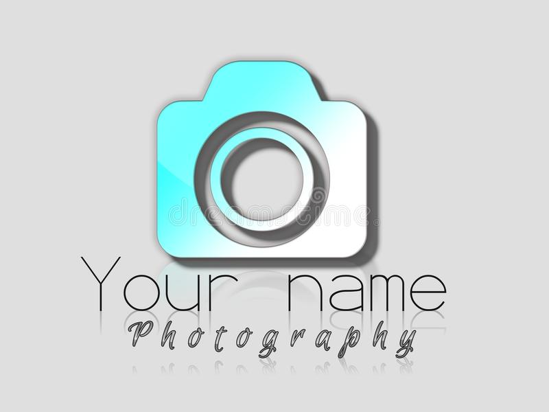Photographe Logo photo stock