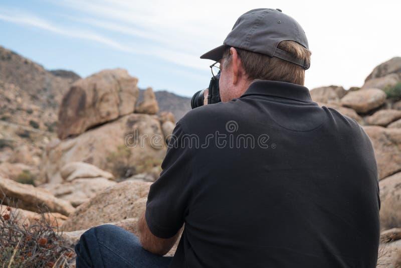 Photographe mâle photo libre de droits