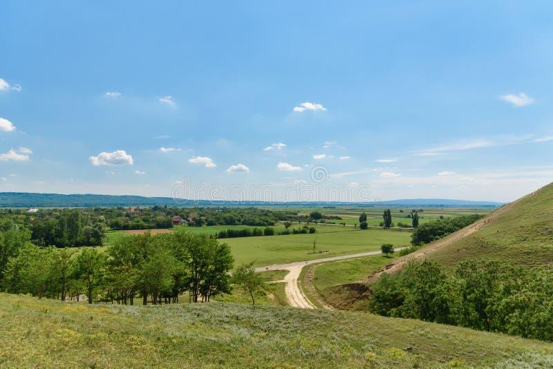 Photographed from the highest peak of Titelski breg. royalty free stock image