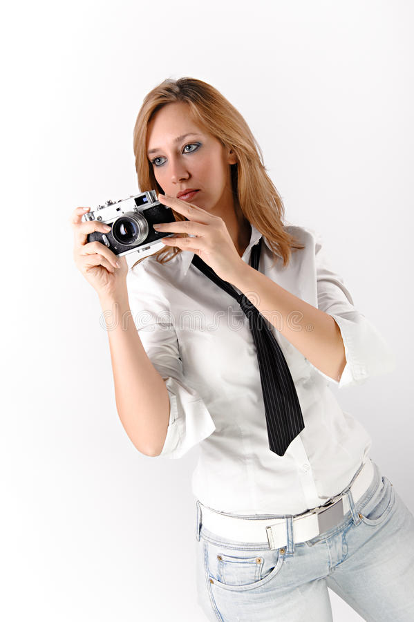 Download Photographer stock photo. Image of photo, shoot, girl - 11403088