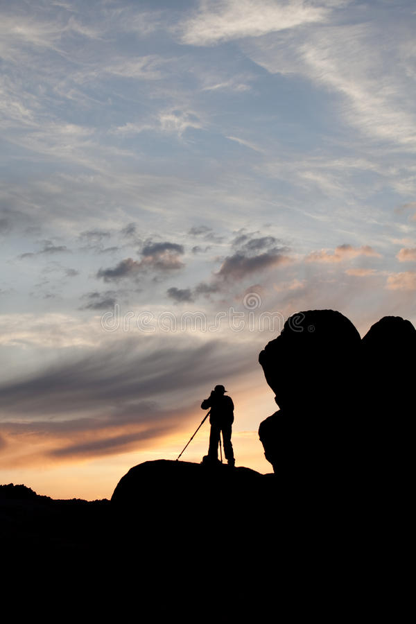 Download Photographer stock photo. Image of solitude, people, nature - 14082964