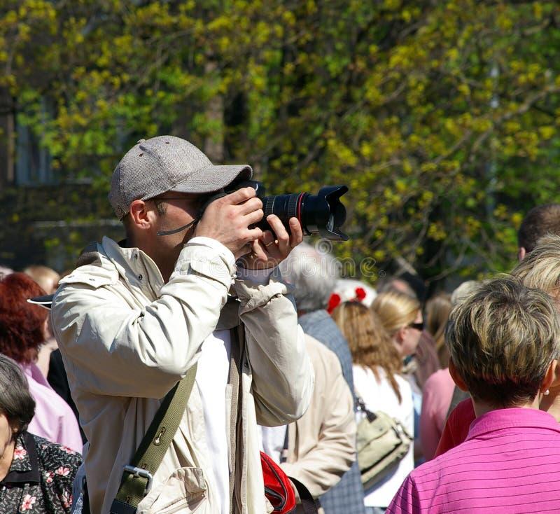 Download Photographer stock photo. Image of zoom, photographer - 1423278