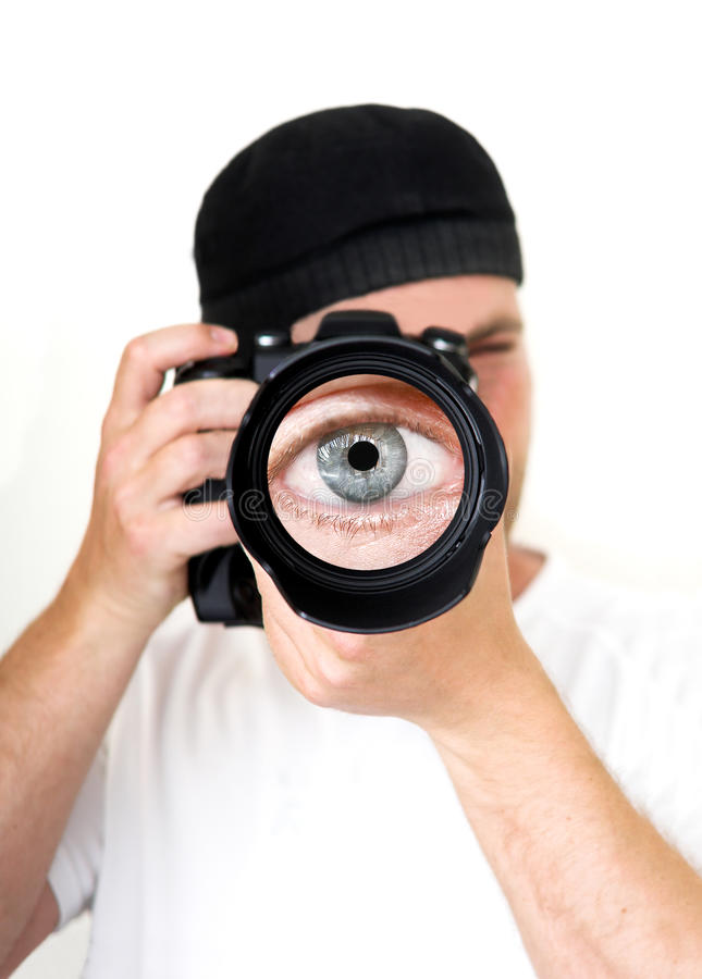 Download The photographer stock image. Image of photographic, digital - 14857023