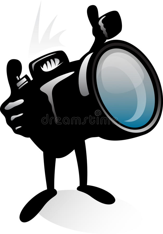 Download Photographer stock illustration. Image of head, image - 25094797