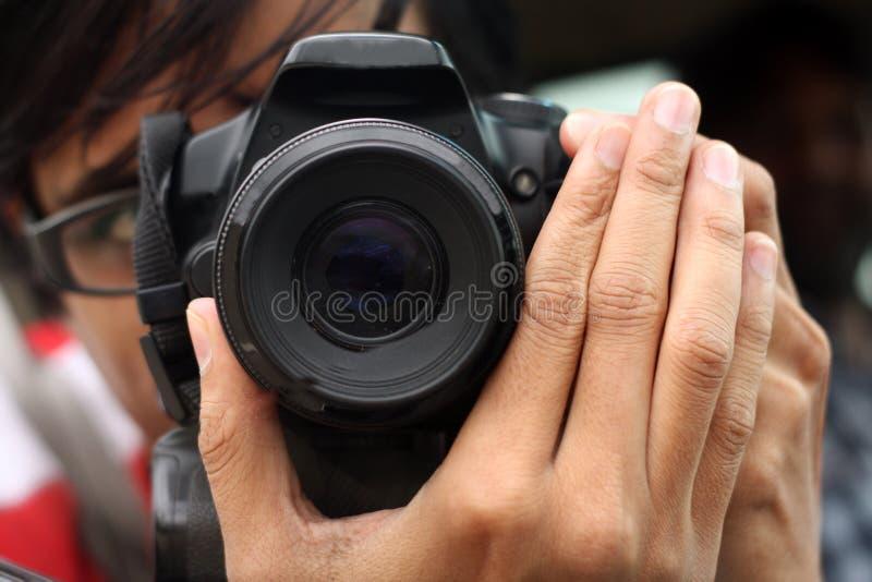 Photographer stock image