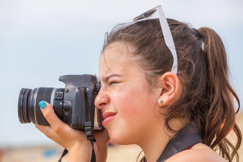 photographer fotografie stock