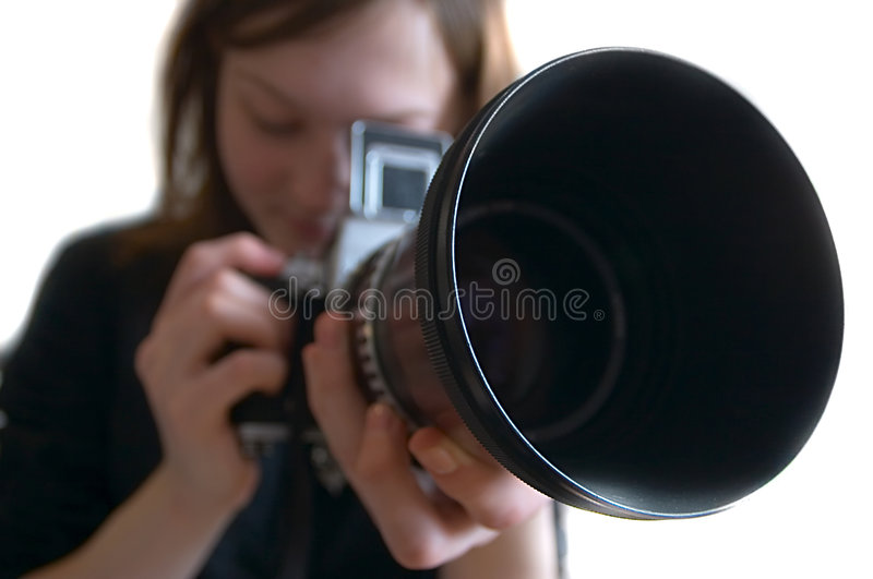 Download Photographer stock image. Image of lens, photographer, camera - 715919
