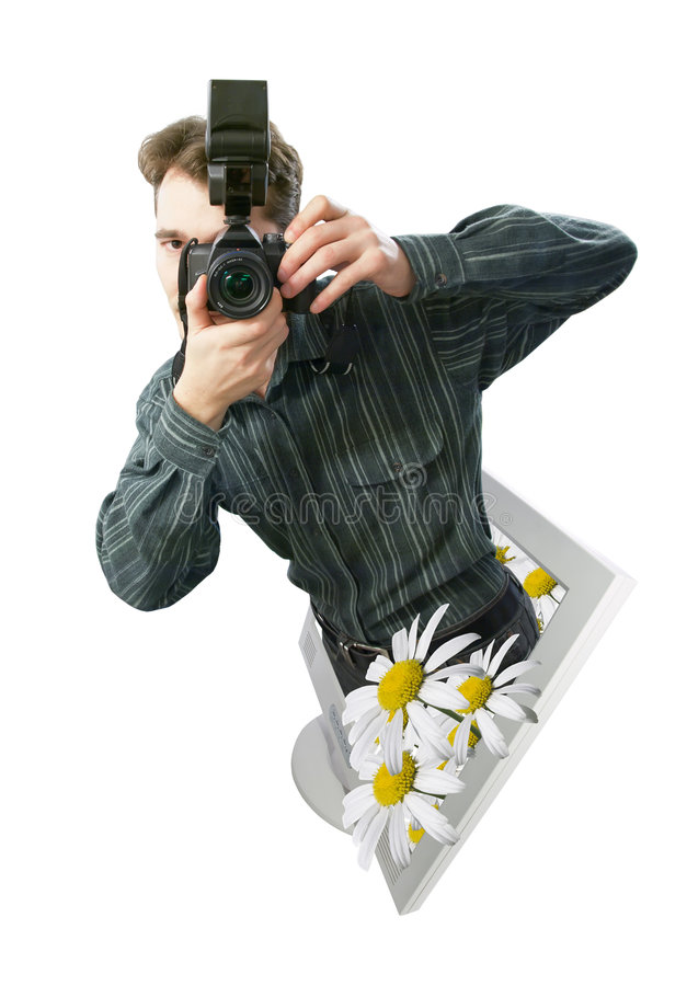 A photographer stock images