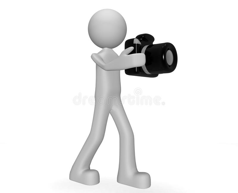 photographer διανυσματική απεικόνιση