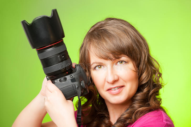 Download Photographer with camera stock photo. Image of freelance - 31011178