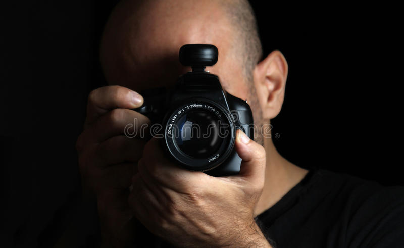 Download Photographer stock photo. Image of photographing, lens - 31491748