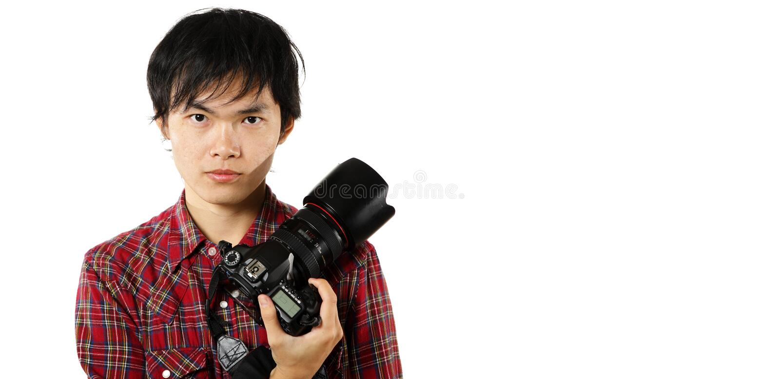 Download Photographer With Copyspace Stock Image - Image: 16989611