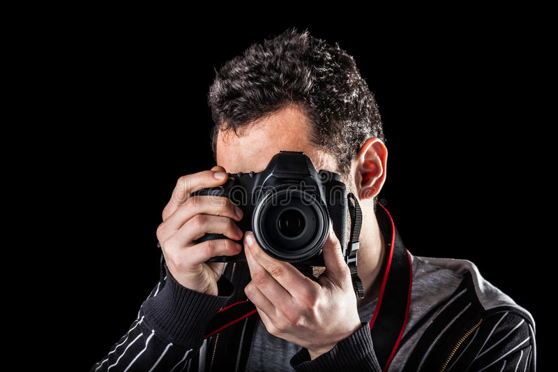 Download Photographer stock photo. Image of photographic, dslr - 32330150