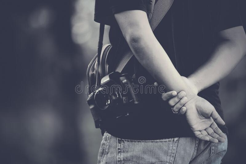 Photographer Holding Hands Behind Free Public Domain Cc0 Image