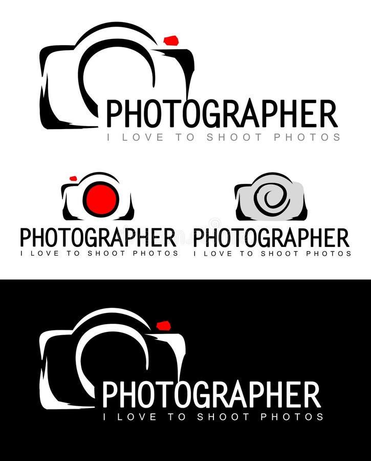 Photographer Logo royalty free illustration