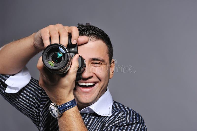 Photographer making a shot