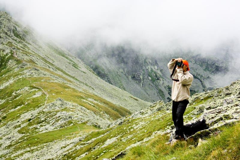 Photographer outdoor royalty free stock photo