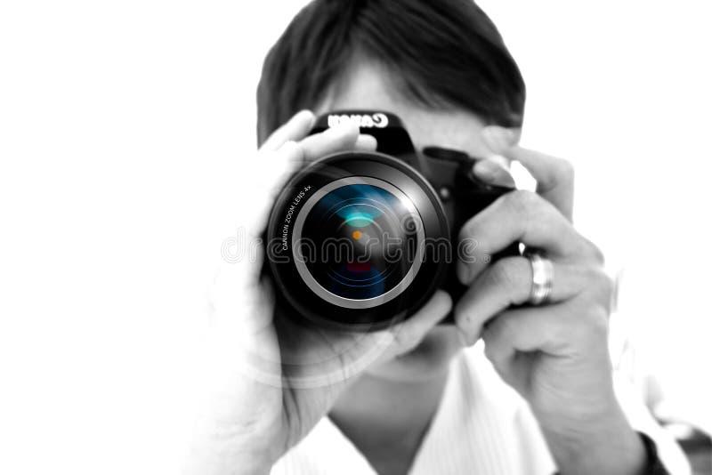 Photographer, Photograph, Single Lens Reflex Camera, Cameras & Optics stock photos
