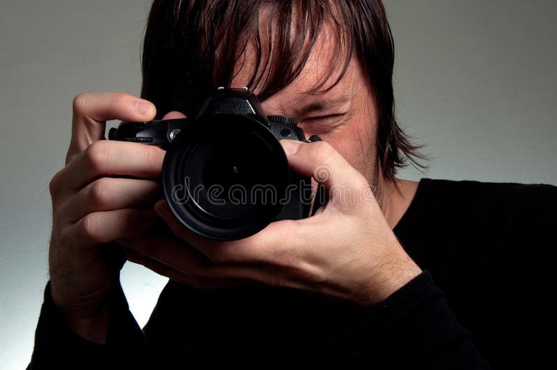 Download Photographer Shooting Royalty Free Stock Photo - Image: 25438235
