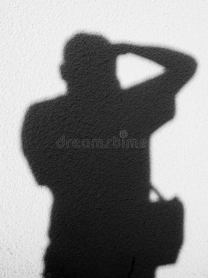 Download Photographer silhouette stock photo. Image of photographer - 1369302