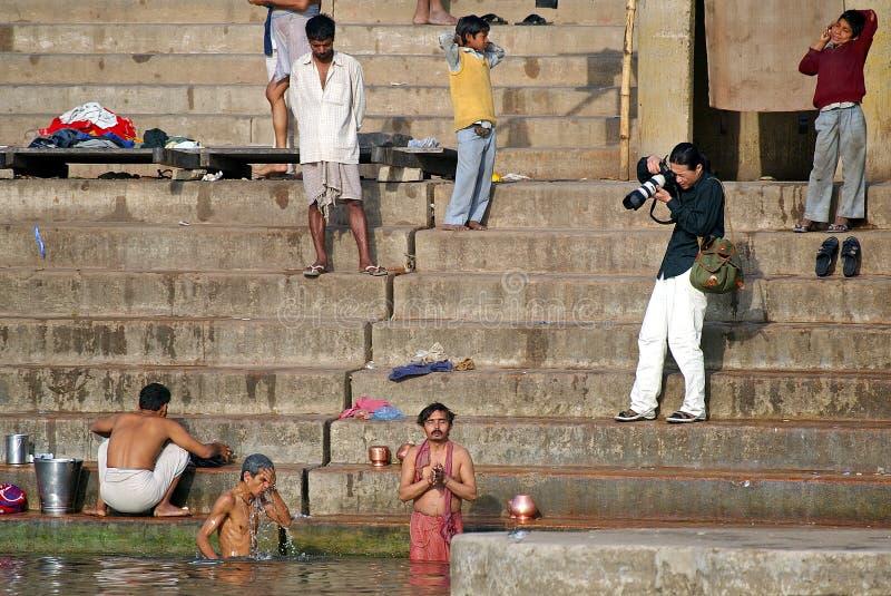 Download Photographer In Varanasi Editorial Stock Photo - Image: 18778253