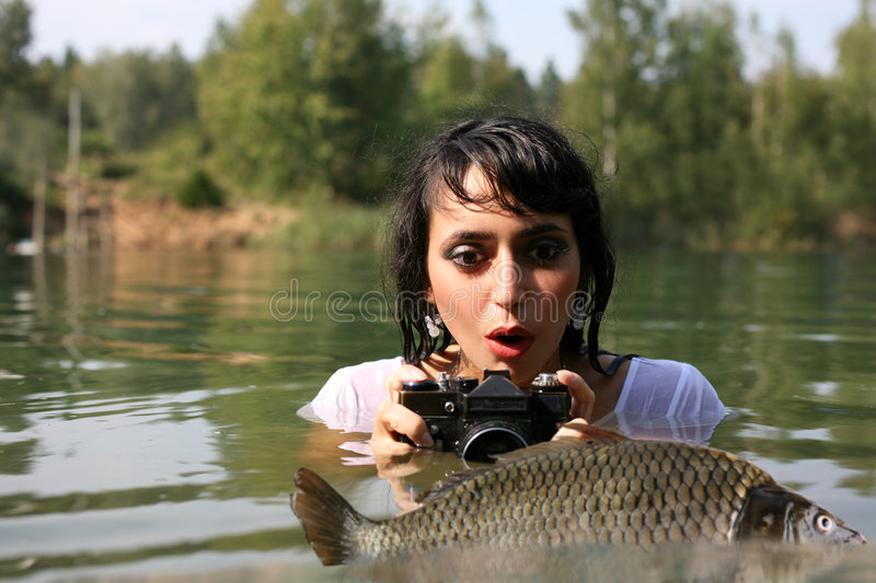 Download Photographer In Water Royalty Free Stock Photo - Image: 8262095