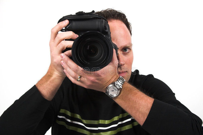 Download Photographer at work stock photo. Image of camera, concentration - 552944
