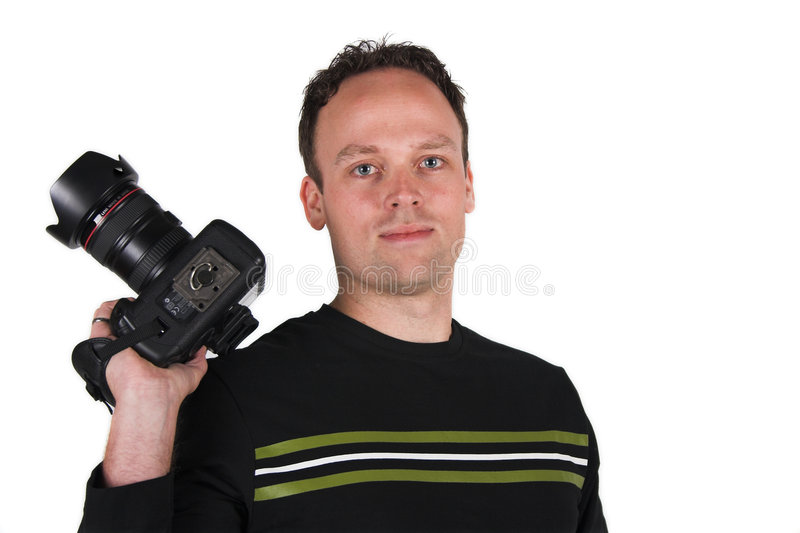 Download Photographer at work stock image. Image of pose, male, photography - 552945