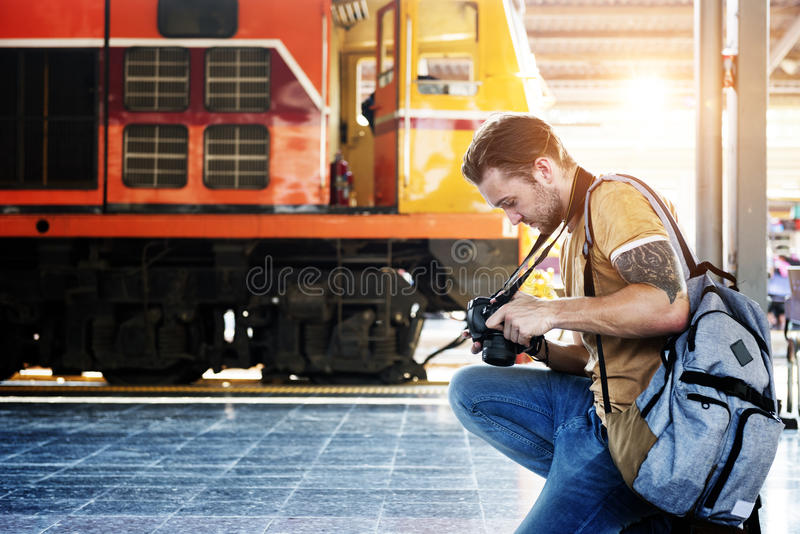 Photographer Working Taking Photo Concept royalty free stock photos
