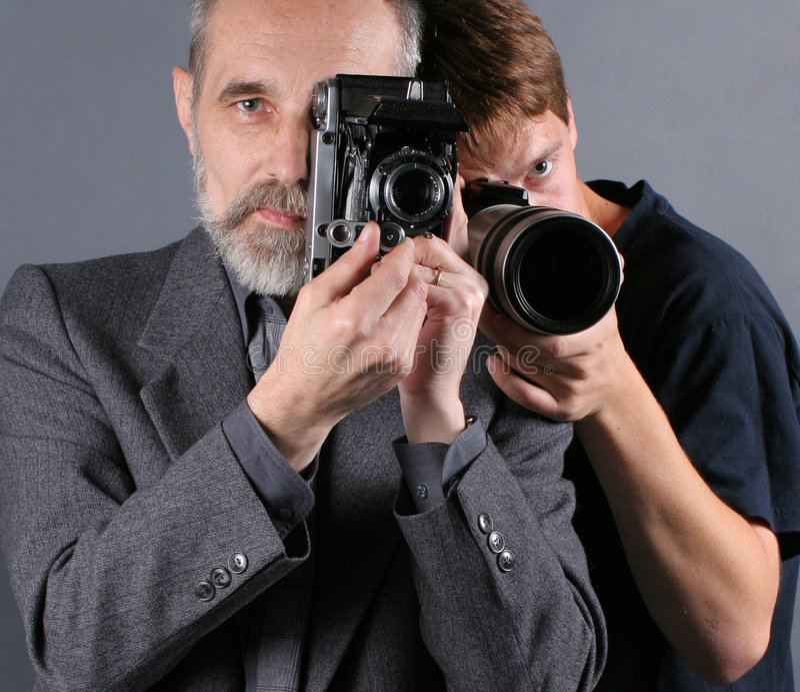 Photographers royalty free stock image
