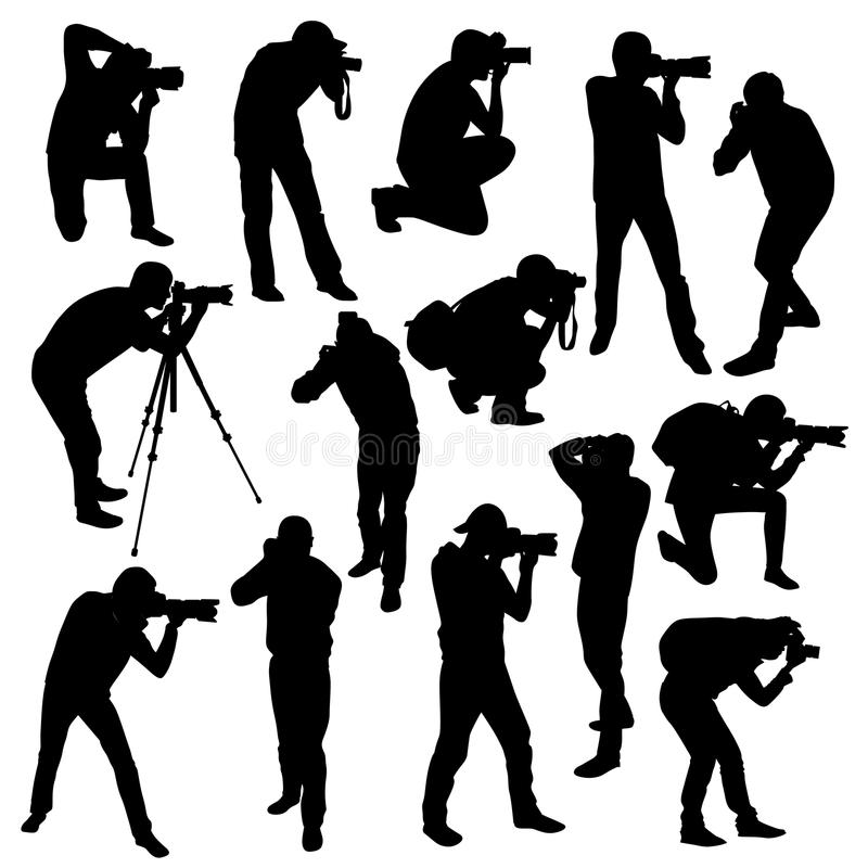 download photographers stock vector image of paparazzi digital 60180439