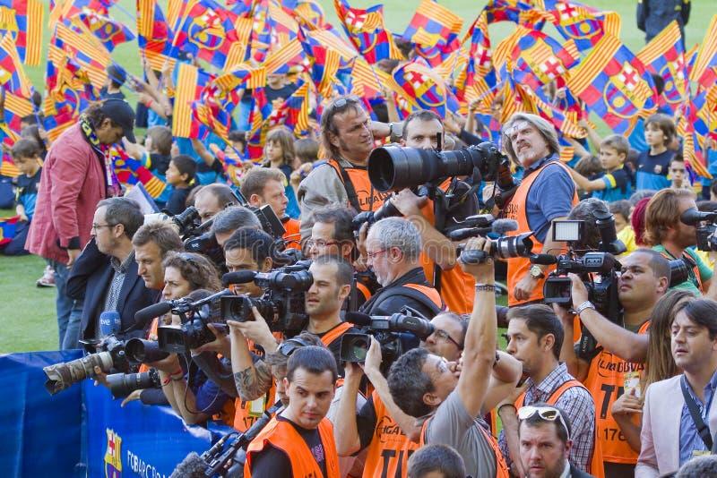 Photographes de sport photos libres de droits