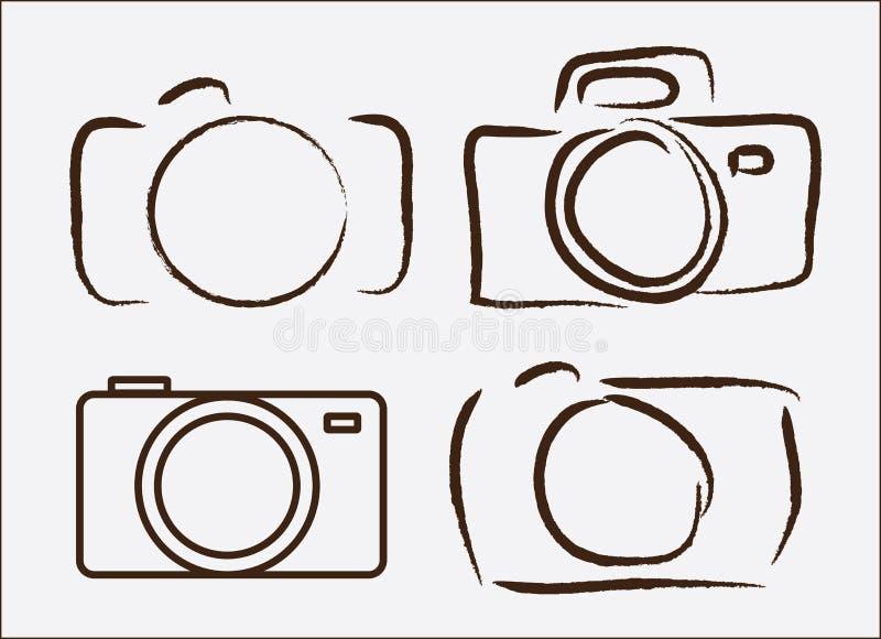 Photographic camera vector illustration