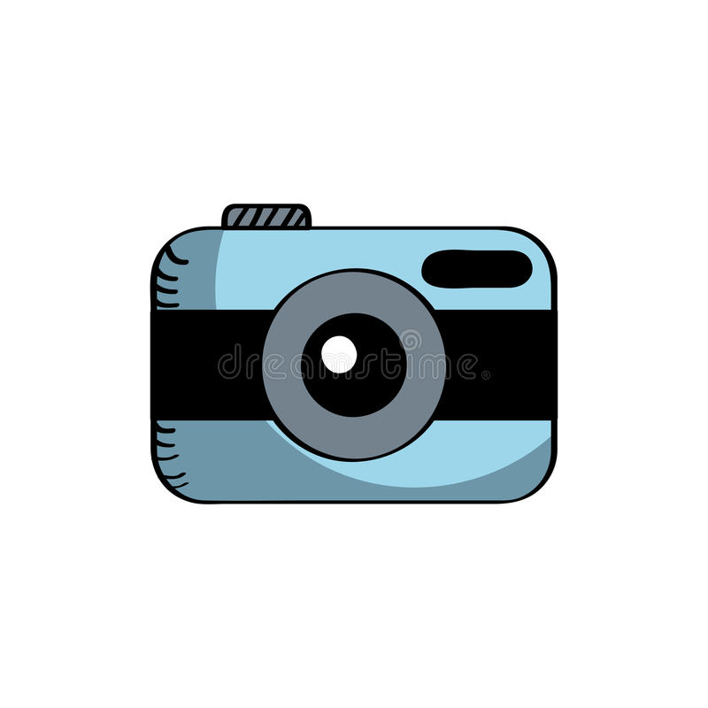 Download Photographic camera icon stock vector. Illustration of electronics - 90842313
