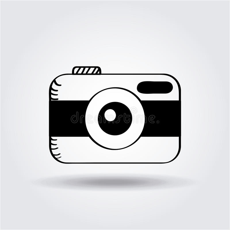 Download Photographic camera icon stock vector. Illustration of photograph - 90841993