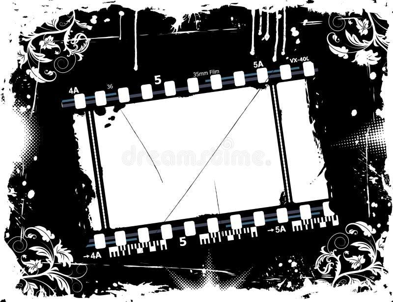 Photographic film frame vector illustration
