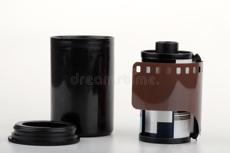 Photographic film roll royalty free stock photography
