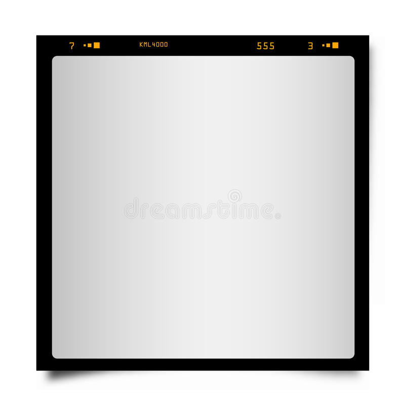 Photographic frame vector illustration