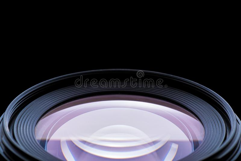 Photographic Lens Detail royalty free stock photo