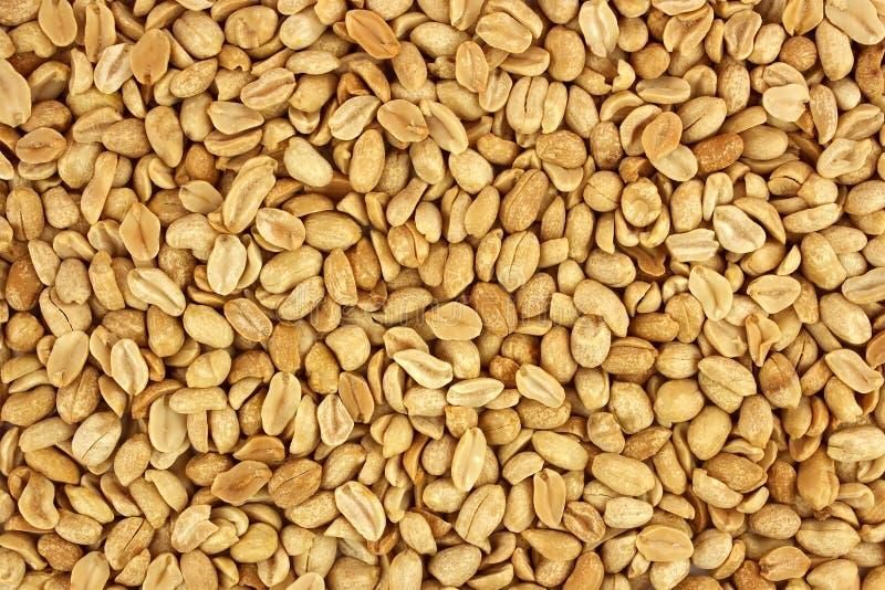 Photographie épluchée de nourriture de fond d'arachides dans le studio photos stock