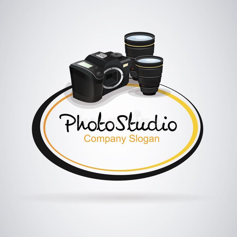 Photographie d'appareil-photo de logo illustration libre de droits