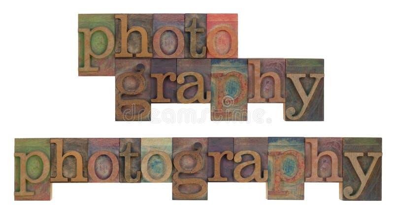 Photographie dans le type d'impression typographique de cru photos stock