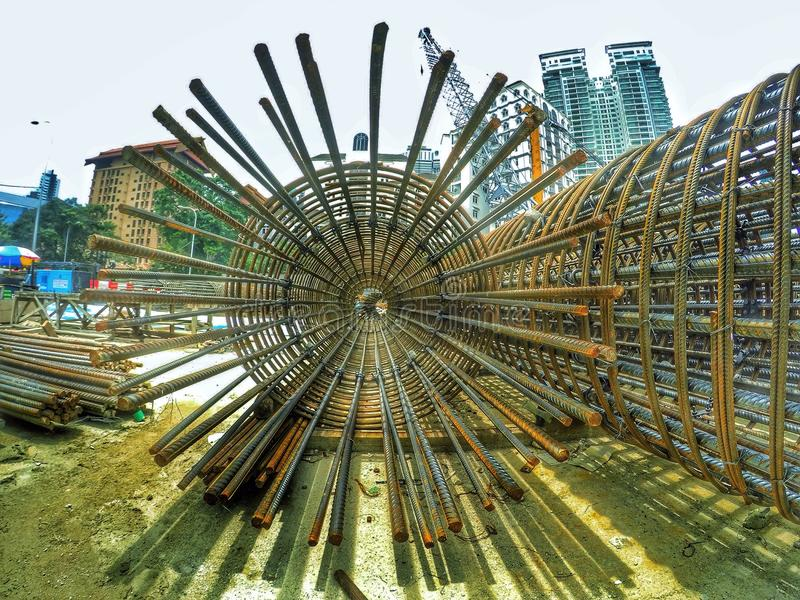 Photographie de construction de la Malaisie photographie stock